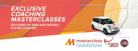 Netball coaching masterclass in association with England Netball and Fiat