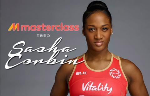 Masterclass sports tours meets England Netballer Sasha Corbin