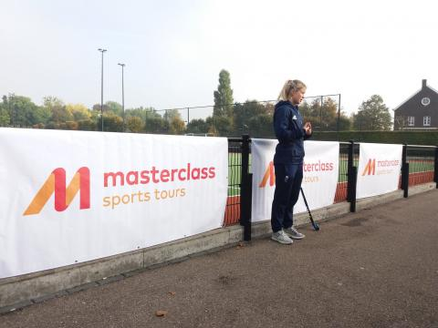 Olympic Gold Medallist, Sophie Bray supporting masterclass school sports tours